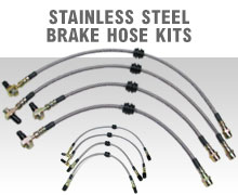 MINI Cooper Performance Stainless Steel Brake Hose Kits!