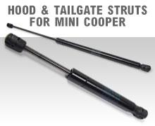 Hood & Tailgate Struts For MINI Cooper