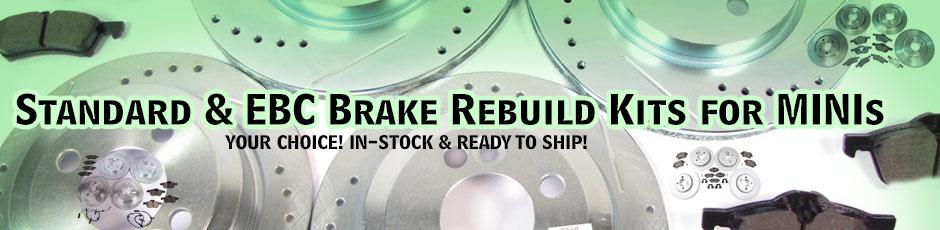 Brake Rebuild Kits For MINIs On SALE!