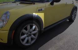 MINI Cooper wheel arch molding