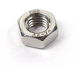 M8 x 1.25 stainless steel hex nut