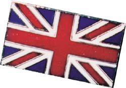 Union Jack lapel pin