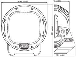 ARB Intensity LED Lights - diagram