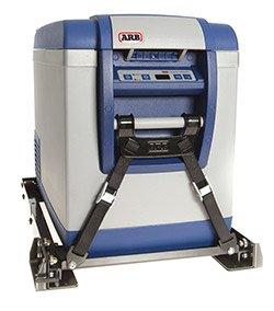 ARB Refrigerator Slide shown with ARB Refrigerator Tiedown Kit