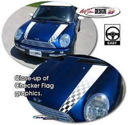 MINI Cooper hood stripes
