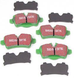 EBC Greenstuff rear brake pads