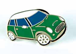 Lapel Pin - Cooper S - Green