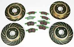 EBC brake kit - Greenstuff