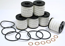 MINI Cooper Oil Filter Kit - Set of 6