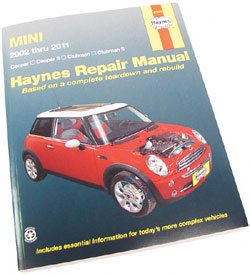 MINI Cooper Haynes manuals