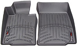 black WeatherTech FloorLiners