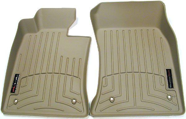 Tan weathertech floorliners