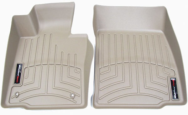 tan WeatherTech FloorLiners